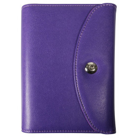 Agenda organiseurs EXACOMPTA Exatime 17 light Philae violet - 190x135mm