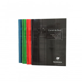 Carnet de bord CLAIRFONTAINE Int'l - 14,8x21cm couverture rigide - 40 pages