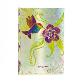 Agenda PAPERBLANKS Colibri - Mini - 100×140mm - 1 semaine sur 2 pages horizontal