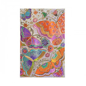 Agenda PAPERBLANKS Papillons - Maxi - 135×210mm - 1 semaine sur 2 pages vertical