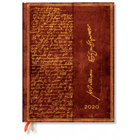 Agenda PAPERBLANKS Shakespeare, Sir Thomas More - Ultra - 180×230mm - 1 jour par page