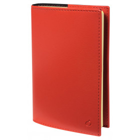 Agenda QUOVADIS Note 24S 16x24cm Soho - 1 semaine sur 1 page Horizontal+NOTE - Rouge Dali