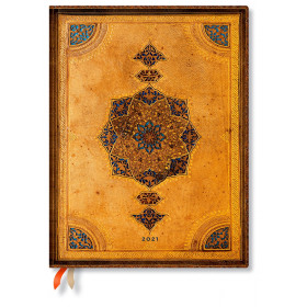 Agenda PAPERBLANKS Reliure Safavide - Ultra - 180×230mm - 1 jour par page