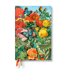 Agenda PAPERBLANKS Montages Nature - Mini - 98×140mm - 1 jour par page